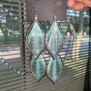 Earrings Mint Color
